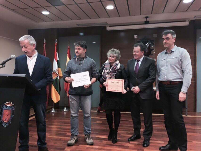 Riberwifi recibe el I Premio en el concurso de Emprendedores Ciudad de Alfaro